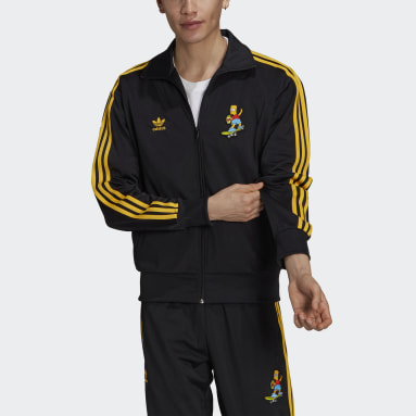 The Simpsons Firebird Track Top noir Hommes Originals