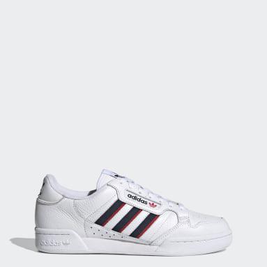 Men Originals White Continental 80 Stripes Shoes