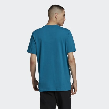 Originals Turquoise Paris Trefoil T-Shirt