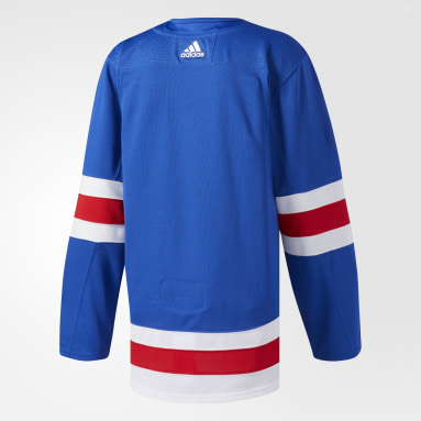 Men's Hockey Blue Rangers Home Authentic Pro Jersey