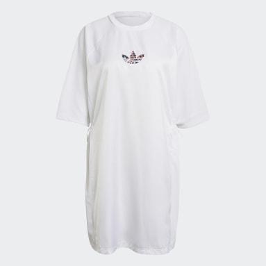Women Originals White Tee Dress