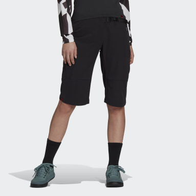 Women's Five Ten Black Five Ten Bike TrailX Bermuda Shorts