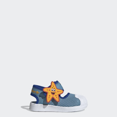 Kinderen Originals Geel Superstar 360 Primeblue Sandalen