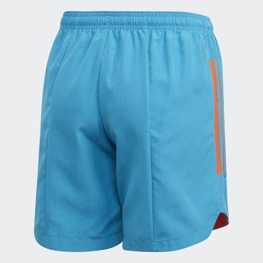 Kinderen Fitness En Training Blauw Condivo 20 Primeblue Short