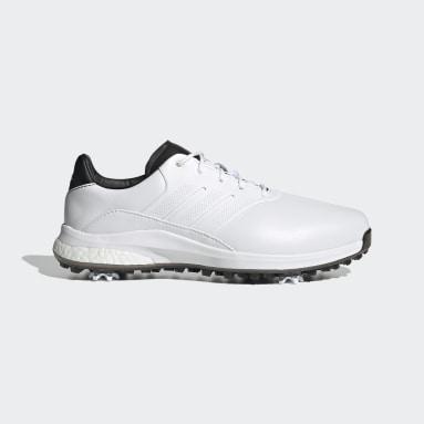 Scarpe da Golf Performance Classic Recycled Polyester Bianco Golf
