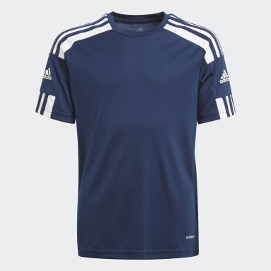 Camiseta Squadra 21 Azul Niño Fútbol