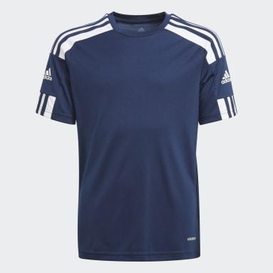 Jongens Voetbal Blauw Squadra 21 Voetbalshirt