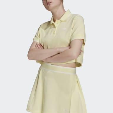 Women's Originals Yellow Tennis Luxe Polo Shirt
