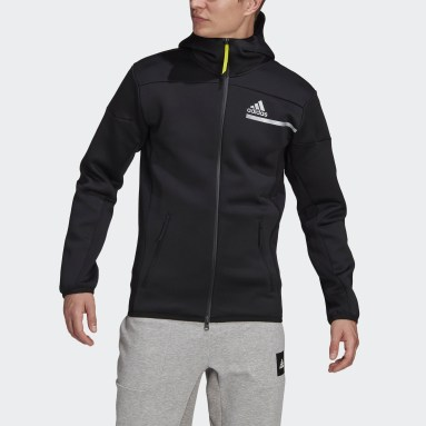 Men Sportswear Black adidas Z.N.E. Sportswear Innovation Motion Full-Zip Hoodie