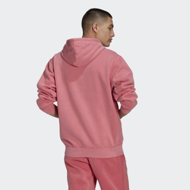 Men Originals Pink Dyed Hoodie