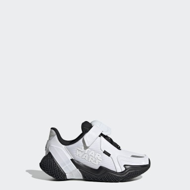 Børn Løb Hvid Star Wars 4uture RNR sko