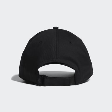 Men Golf Black Twill Cap