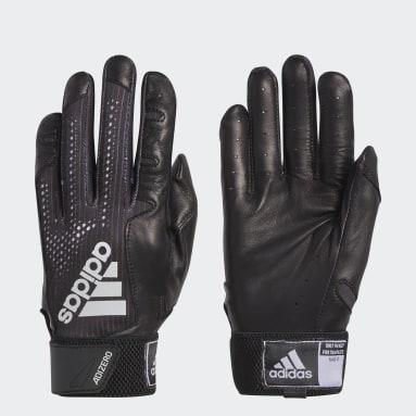 Baseball Black Adizero 4.0 Batting Gloves