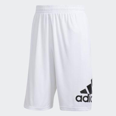 Men Basketball White Crazylight Shorts