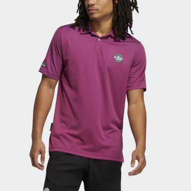 Polo Primeblue Two-Tone rouge Hommes Golf