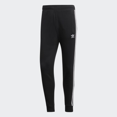 Men Originals Black 3-Stripes Pants