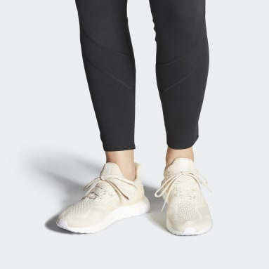 Chaussure Ultraboost 5.0 Uncaged DNA Beige Femmes Course