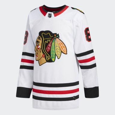 Maillot Blackhawks Kane Extérieur Authentic Pro blanc Hommes Hockey