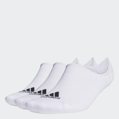 Männer Golf Low-Cut Socken, 3 Paar Weiß