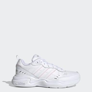 Sapatos Strutter Branco Mulher Walking