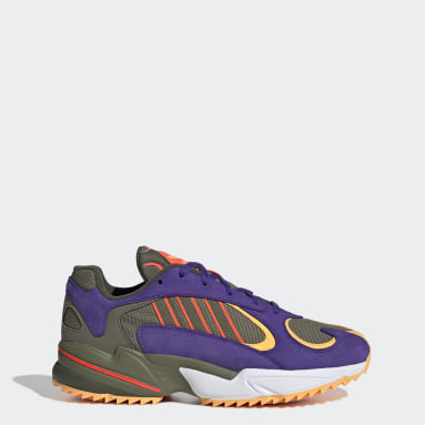 Yung-1 Trail Shoes Zielony