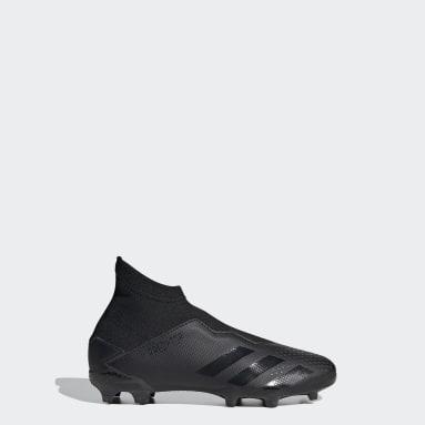 Chaussure Predator 20.3 Terrain souple Noir Garçons Football
