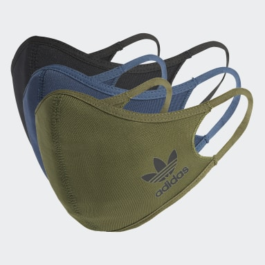 Originals Groen Mondkapje Medium/Large - Niet voor medisch gebruik