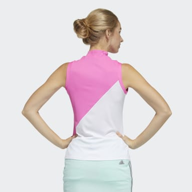 Polo Sleeveless Rose Femmes Golf