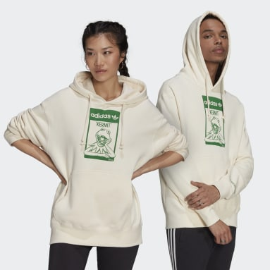 Originals White Kermit Hoodie (Gender Neutral)