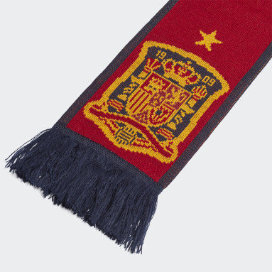 Football Red Spain Scarf