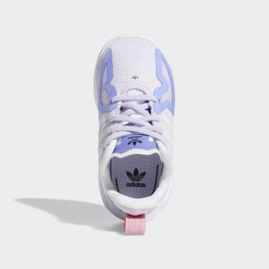Børn Originals Lilla ZX 2K Flux sko