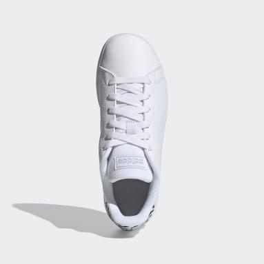 Tenis Advantage (UNISEX) Gris Niño Diseño Deportivo