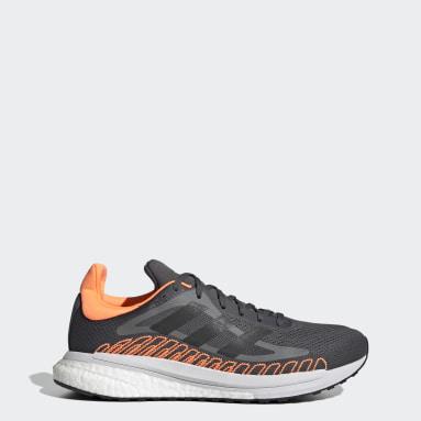 Herr Löpning Grå SolarGlide ST Shoes