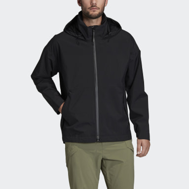 Men City Outdoor Black Traveer RAIN.RDY Rain Jacket
