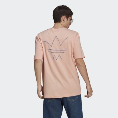 Men Originals Pink R.Y.V. Abstract Trefoil T-Shirt