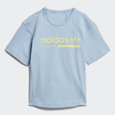 Infant Originals Blue Kaval Shorts Set