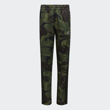 Youth Training Green Action Camo Pants