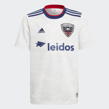 Youth Soccer White D.C. United 21/22 Away Jersey