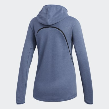 Women Gym & Training Blue FreeLift Light Hoodie