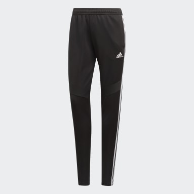 Women Soccer Black Tiro 19 Training Pants