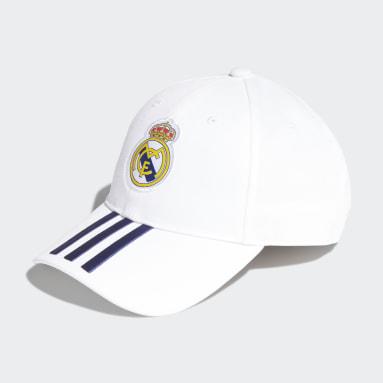 Gorra Baseball Real Madrid Blanco Fútbol