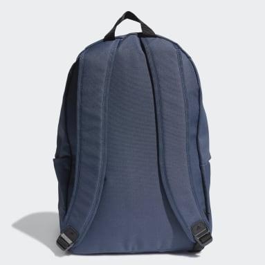 ไลฟ์สไตล์ สีน้ำเงิน กระเป๋าเป้ 3-Stripes ทรงคลาสสิก