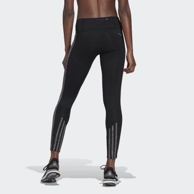 Women Running Black Own The Run Primeblue Running Tights