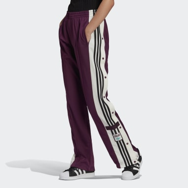 Women Originals Purple Girls Are Awesome Adibreak Pants