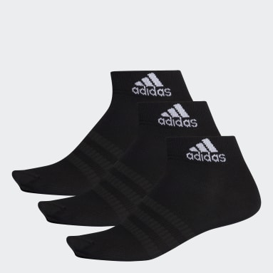 Cricket Black Ankle Socks 3 Pairs