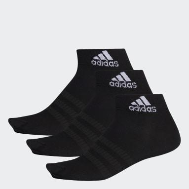 Socquettes (3 paires) noir Entraînement