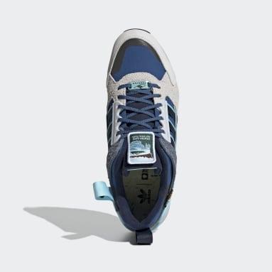 Chaussure ZX 10,000 Bleu Originals