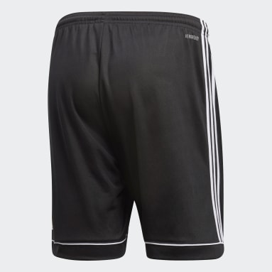 Men Gym & Training Black Squadra 17 Shorts