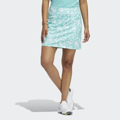 Women Golf White Ultimate365 Primegreen Printed Skort