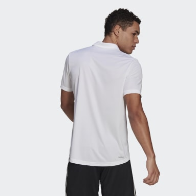 Polo con Cuello AEROREADY Designed To Move Sport Blanco Hombre Training